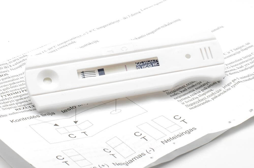False negative pregnancy test