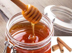 Honey and cinnamon strips