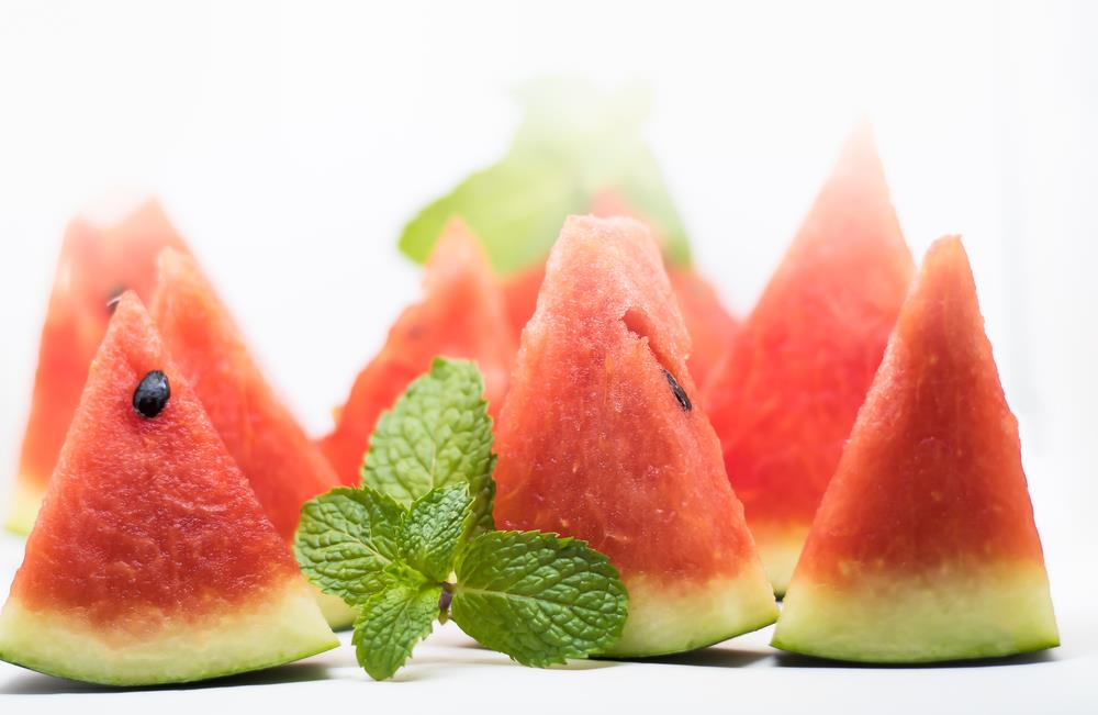 Watermelons contain