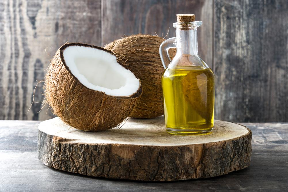 Coconut oil get rid of acne scars