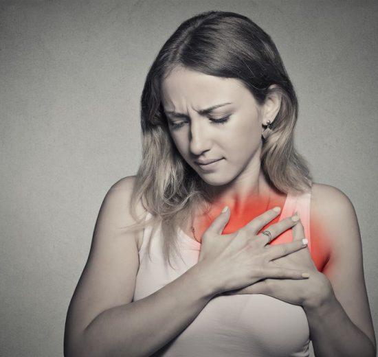 pain under left armpit