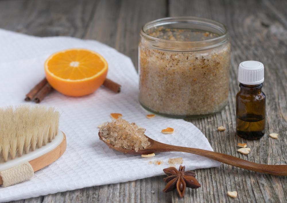 Sugar Scrub for scalp