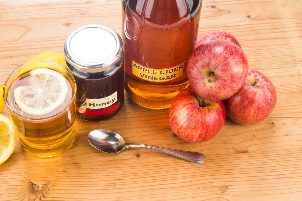 Apple cider vinegar for burning sensation in stomach