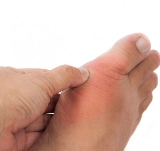 pain on top of foot